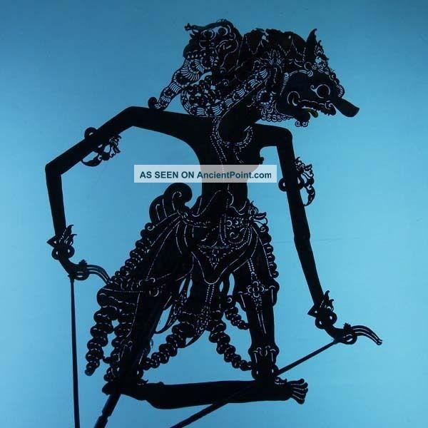 Wayang Kulit Indonesie Schattenspielfigur Marionette Shadow Puppet Gift Cx81 Pacific Islands & Oceania photo