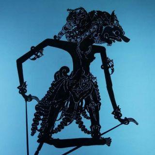 Wayang Kulit Indonesie Schattenspielfigur Marionette Shadow Puppet Gift Cx81 photo
