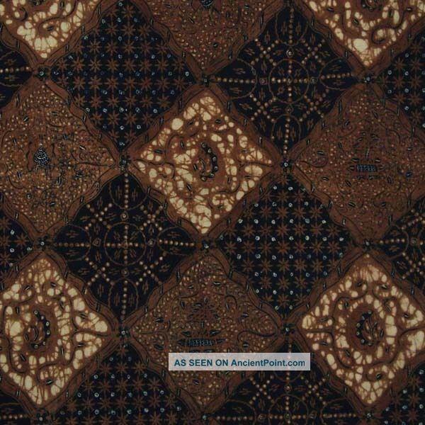 Vintage Indonesien Javanese Jawa Batik Fabric Textile Clothes Wax Dye Jarit Bx42 Pacific Islands & Oceania photo