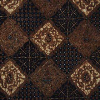 Vintage Indonesien Javanese Jawa Batik Fabric Textile Clothes Wax Dye Jarit Bx42 photo