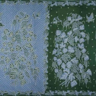 North Coast Batik Fabric Textile Sarong Indonesian Indonesien Wax By67 photo