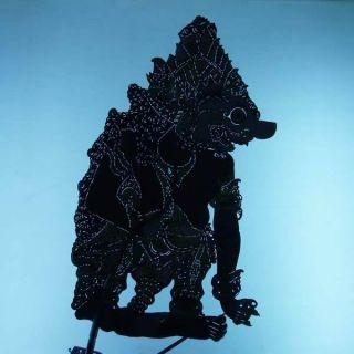 Vintage Wayang Kulit Shadow Puppet Indonesian Gift Cm55 photo