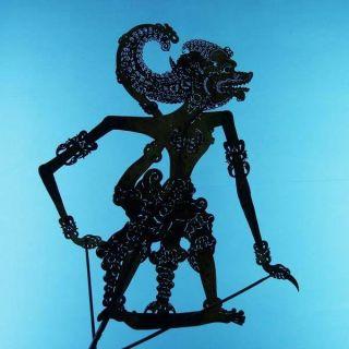 Wayang Kulit Jawa Shadow Puppet Schattenspielfigur Cp16 photo