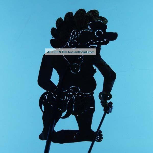 Indonesien Indonesia Jawa Schattenspielfigur Wayang Kulit Shadow Puppet Art Ct10 Pacific Islands & Oceania photo