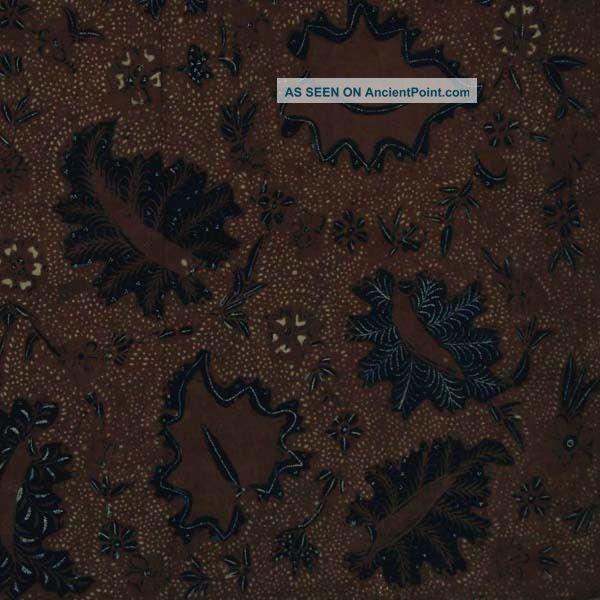 Old Vintage Javanese Hand Drawn Batik Tulis Fabric Textile Clothes Wax Dye Bx47 Pacific Islands & Oceania photo