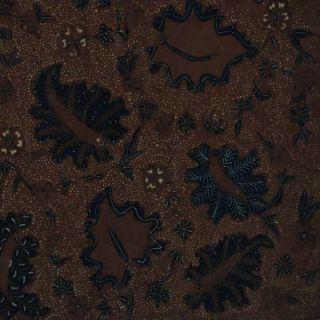 Old Vintage Javanese Hand Drawn Batik Tulis Fabric Textile Clothes Wax Dye Bx47 photo