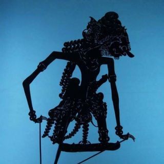Wayang Kulit Javanese Jawa Schattenspielfigur Marionette Shadow Puppet Gift Cx22 photo