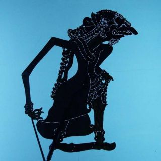 Wayang Kulit Indonesia Schattenspielfigur Marionette Shadow Puppet Gift Cs76 photo
