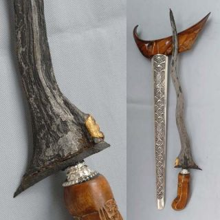 Upgraded Keris 5 Luk Panji Wilis 24 Carat Gold Art Rj21 photo