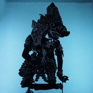 Wayang Kulit Indonesien Schattenspielfigur Marionette Shadow Puppet Gift Cx16 photo