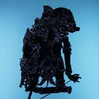Wayang Kulit Indonesie Schattenspielfigur Marionette Shadow Puppet Gift Cs89 photo