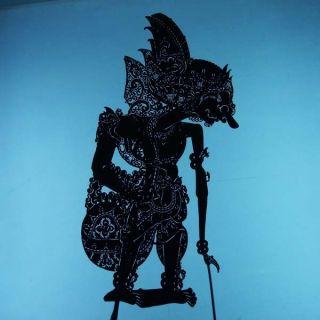 Wayang Kulit Indonesia Schattenspielfigur Marionette Shadow Puppet Gift Da11 photo