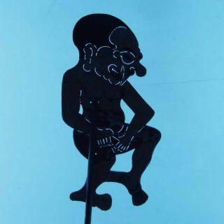 Wayang Kulit Indonesien Schattenspielfigur Marionette Shadow Puppet Gift Cn85 photo