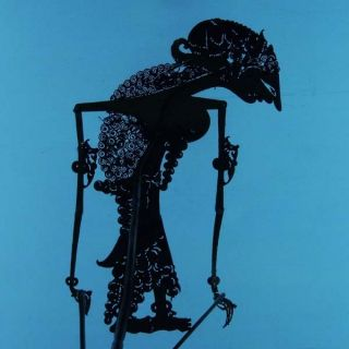 Wayang Kulit Indonesie Schattenspielfigur Marionette Shadow Puppet Gift Cx70 photo