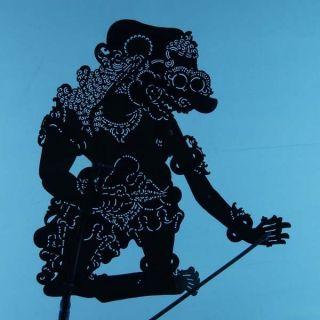 Wayang Kulit Indonesia Schattenspielfigur Marionette Shadow Puppet Gift Da43 photo
