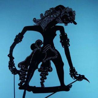 Wayang Kulit Indonesie Schattenspielfigur Marionette Shadow Puppet Gift Da10 photo