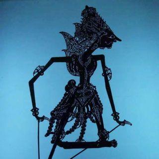 Wayang Kulit Indonesie Schattenspielfigur Marionette Shadow Puppet Gift Da21 photo