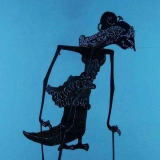 Wayang Kulit Indonesia Schattenspielfigur Marionette Shadow Puppet Gift Da41 photo