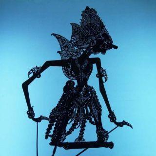 Wayang Kulit Indonesia Schattenspielfigur Marionette Shadow Puppet Gift Cq60 photo