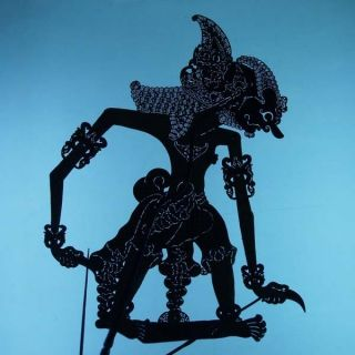 Wayang Kulit Indonesian Schattenspielfigur Jawa Marionette Shadow Puppet Ct92 photo