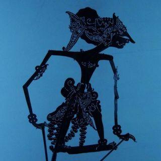 Wayang Kulit Indonesia Schattenspielfigur Marionette Shadow Puppet Gift Cw93 photo