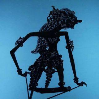 Wayang Kulit Javanese Jawa Schattenspielfigur Marionette Shadow Puppet Gift Cx21 photo