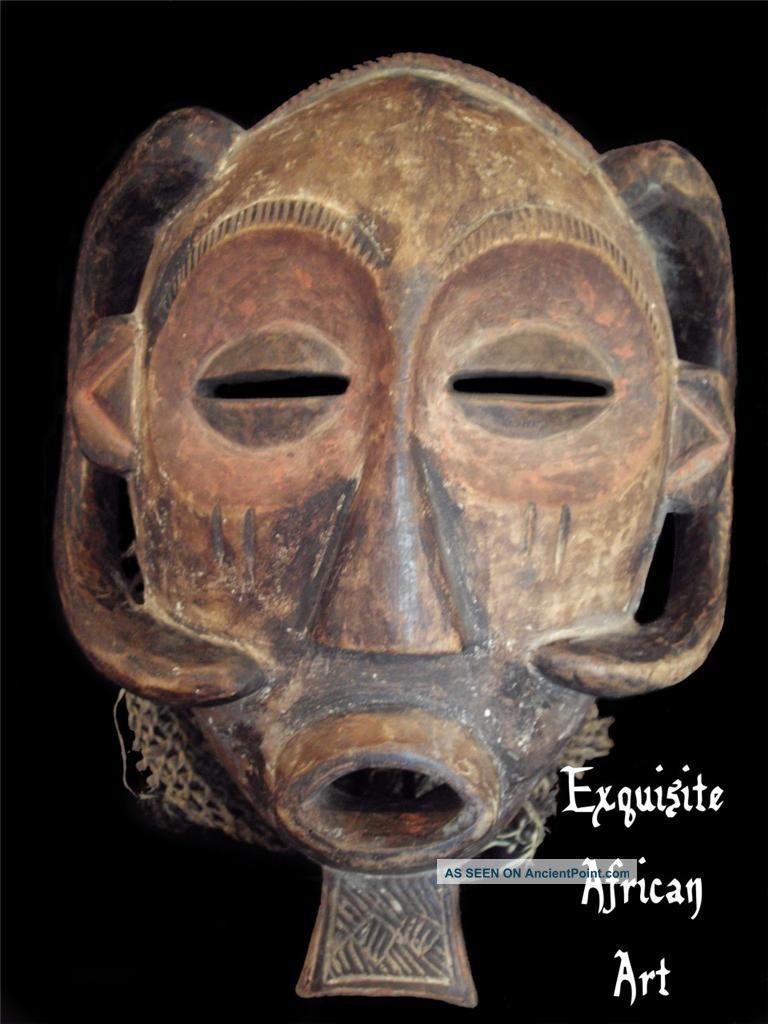 Exquisite & Rare African Luba Mask,  Baluba Katanga Congo Other photo