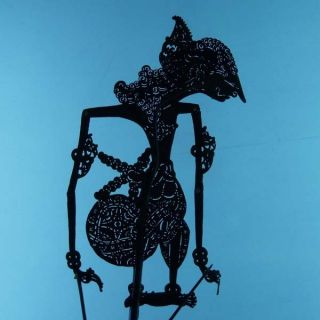Wayang Kulit Indonesia Schattenspielfigur Marionette Shadow Puppet Gift Cx79 photo