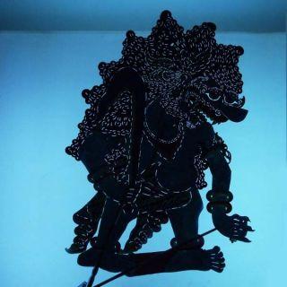 Wayang Kulit Indonesia Schattenspielfigur Javanese Marionette Shadow Puppet Ct28 photo