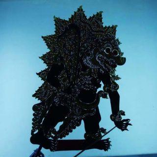 Wayang Kulit Indonesia Schattenspielfigur Marionette Shadow Puppet Gift Da78 photo