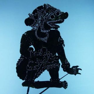 Wayang Kulit Indonesien Schattenspielfigur Marionette Shadow Puppet Gift Cs87 photo