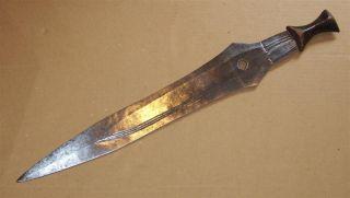 Congo Old African Knife Ancien Couteau Boa Afrika Kongo Africa D ' Afrique Zwaard photo