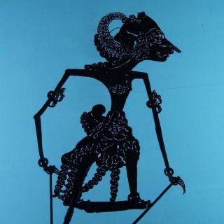 Wayang Kulit Indonesian Schattenspielfigur Marionette Shadow Puppet Gift Da19 photo