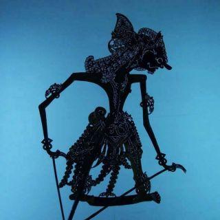 Wayang Kulit Indonesia Schattenspielfigur Marionette Shadow Puppet Gift Da83 photo
