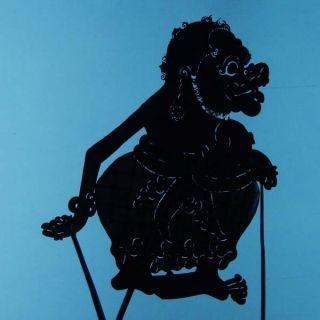 Wayang Kulit Indonesian Schattenspielfigur Marionette Shadow Puppet Gift Cw94 photo