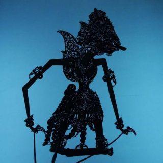 Wayang Kulit Indonesie Schattenspielfigur Marionette Shadow Puppet Gift Da33 photo