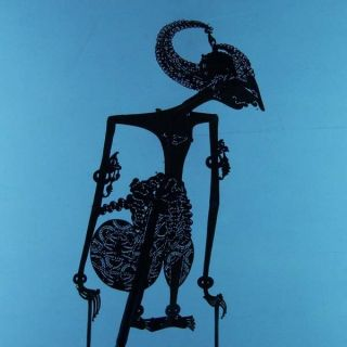 Wayang Kulit Indonesien Schattenspielfigur Marionette Shadow Puppet Gift Cx63 photo