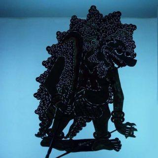 Wayang Kulit Indonesie Schattenspielfigur Javanese Marionette Shadow Puppet Ct29 photo