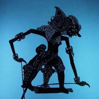 Wayang Kulit Indonesie Schattenspielfigur Marionette Shadow Puppet Gift Da26 photo