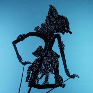 Wayang Kulit Javanese Jawa Schattenspielfigur Marionette Shadow Puppet Gift Cx88 photo