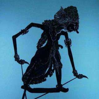 Wayang Kulit Indonesie Schattenspielfigur Marionette Shadow Puppet Gift Da57 photo