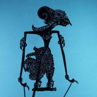 Wayang Kulit Javanese Jawa Schattenspielfigur Marionette Shadow Puppet Gift Da15 photo