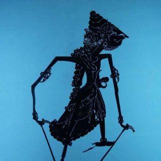 Wayang Kulit Indonesien Schattenspielfigur Marionette Shadow Puppet Gift Da37 photo