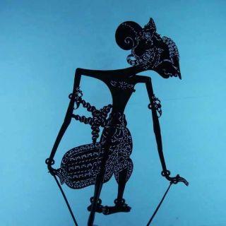 Wayang Kulit Indonesie Schattenspielfigur Marionette Shadow Puppet Gift Da38 photo