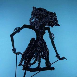 Wayang Kulit Indonesian Schattenspielfigur Marionette Shadow Puppet Gift Da82 photo