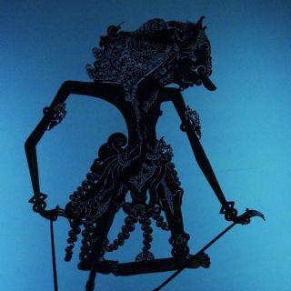 Wayang Kulit Indonesian Schattenspielfigur Marionette Shadow Puppet Gift Cw83 photo