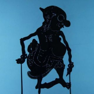 Wayang Kulit Indonesian Schattenspielfigur Marionette Shadow Puppet Gift Cx44 photo