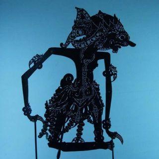 Wayang Kulit Javanese Jawa Schattenspielfigur Marionette Shadow Puppet Gift Cx42 photo