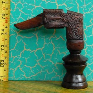 New Hilt Handle Deder Hulu Pekaka Keris Art Sale Pj59 photo