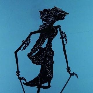 Wayang Kulit Indonesian Schattenspielfigur Marionette Shadow Puppet Gift Cx90 photo